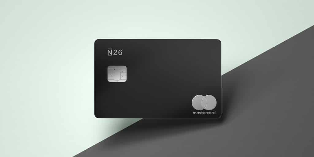 N26 Carte Black mastercard premium