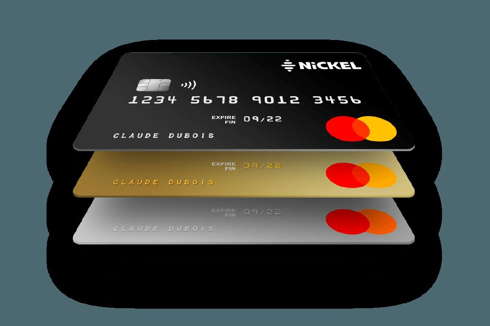 Compte Nickel les cartes bancaires Chrome
