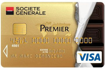 Carte société générale à choisir : Vias Mastercard