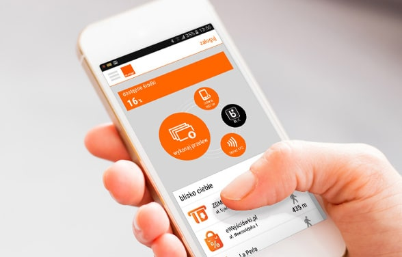 Banque en ligne Orange avec l'application mobile