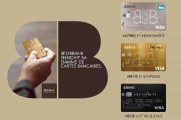 Les cartes bancaires BforBank à choisir