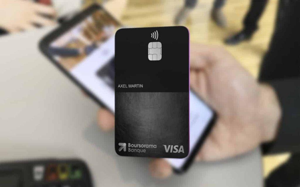 Cb Ultim Boursorama : carte de crédit offert avec une prime d'ouverture de compte de 80 euros et sans condition de revenus .