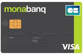 Carte bancaire classic Monabanq
