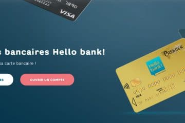 Les cartes Hello Bank à choisir