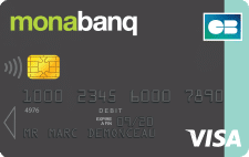 Carte one line Monabanq :carte gratuite  à choisir