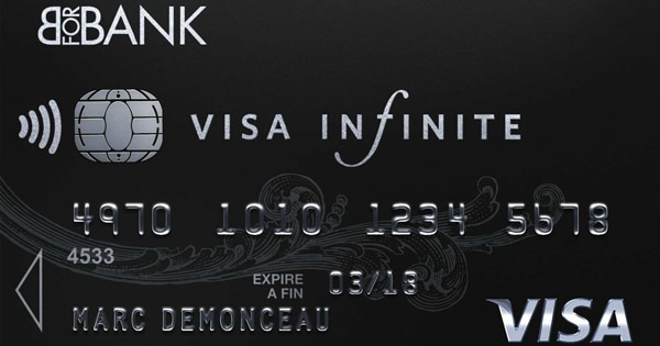 Visa Infinite : carte Bforbank à choisir
