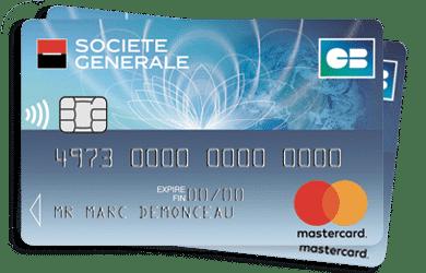 Carte bancaire Mastercard Société Générale