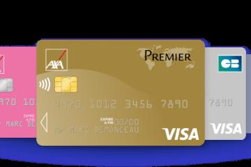 Axa Banque les cartes bancaires gratuites à choisir