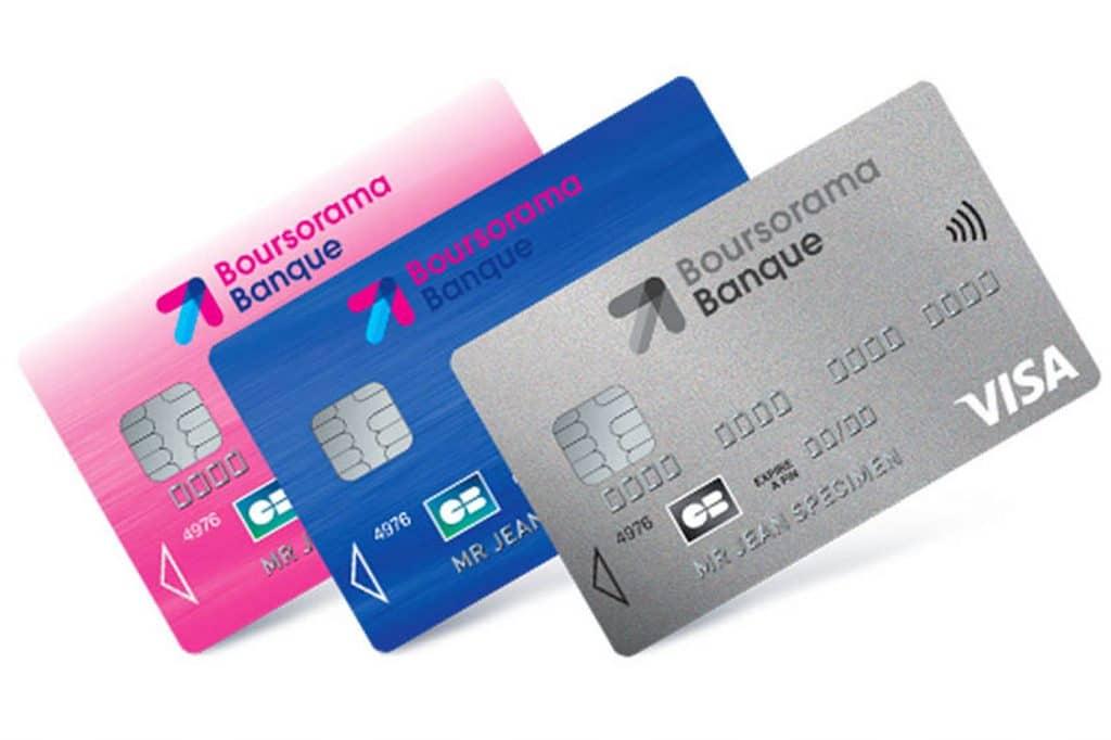 Cartes bancaires Classic Boursorama : CB gratuites à choisir