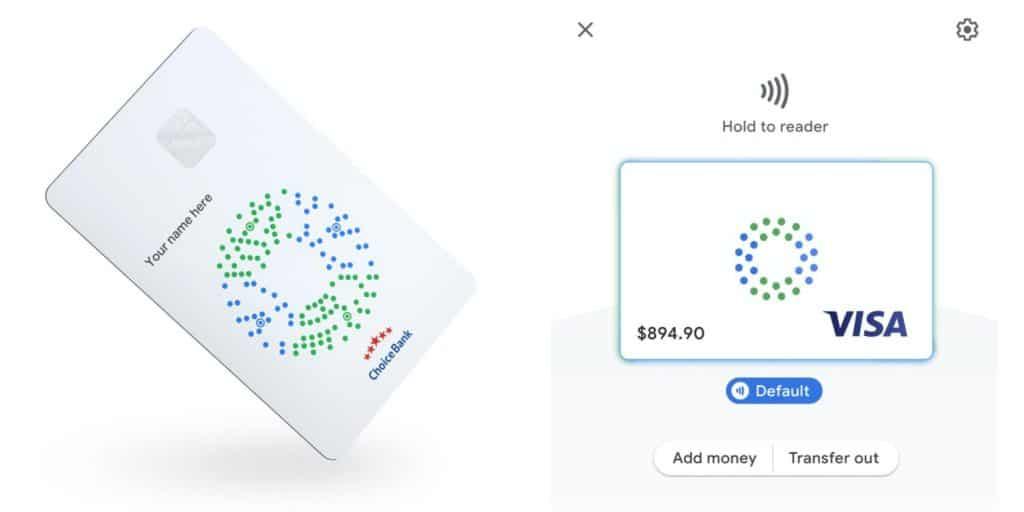 Google Card : carte bancaire de paiement Visa de Google