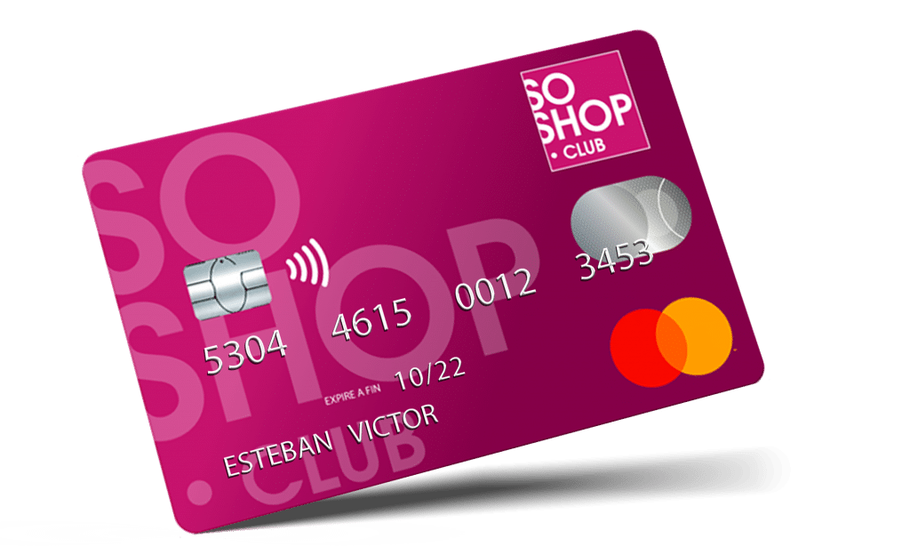 Carte bancaire Soshop