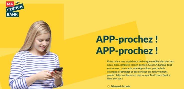 Ma French Bank : La banque mobile de la Banque Postale