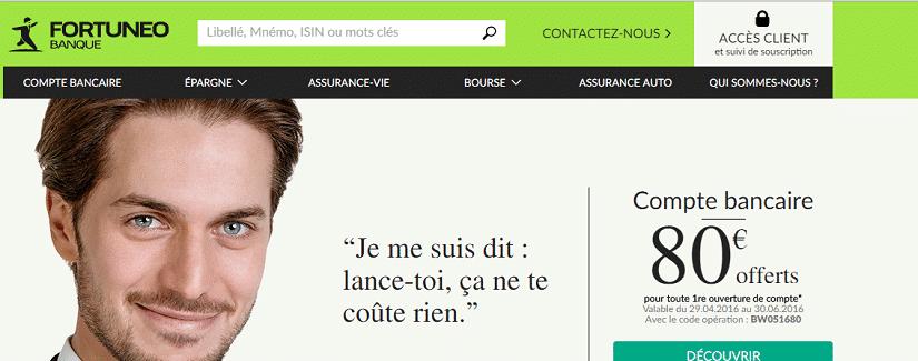 Fortunéo Banque en ligne