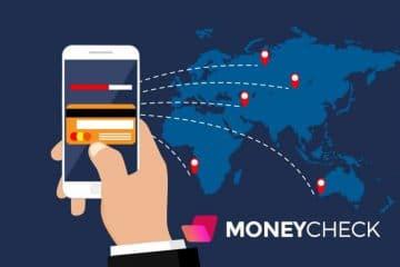 Transfert d'argent en ligne avec carte bancaire