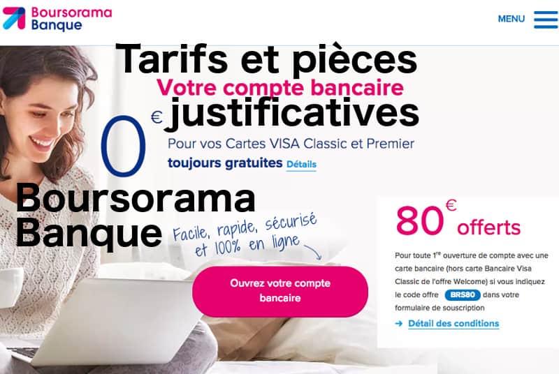 Offre de bienvenue de 80 euros avec la banque en ligne Boursorama