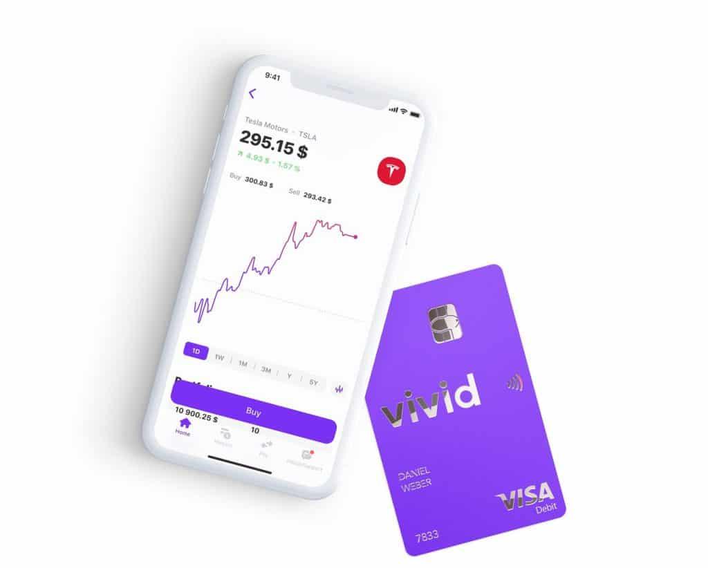 Investir banque en ligne vivid money